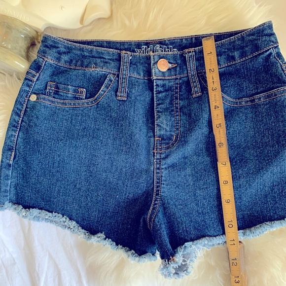 👛Women's High Rise Denim shorts 👖